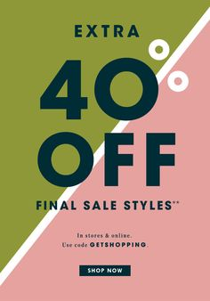 J.Crews - Extra 4-% Off Final Sale Style