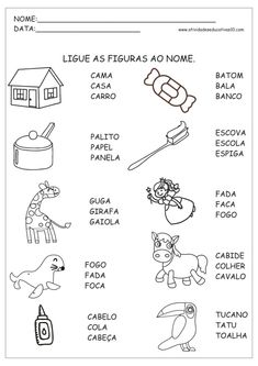 Classroom Objects (Objetos en el Aula) - worksheets for kids learning Spanish Portuguese Lessons, English Class, School Classroom, First Grade, School Days, Professor, Literacy, Activities For Kids, Homeschool