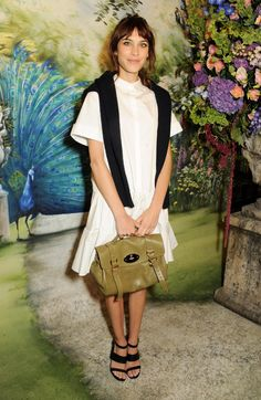 Pin for Later: 14 It Bags and the Women Who Inspired Them Alexa Chung: Mulberry Alexa Bag