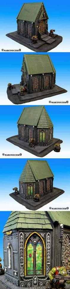 40k Terrain, Chapel, Temple, Terrain