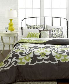 Corinne 5 Piece Comforter and Duvet Cover Sets - Bed in a Bag - Bed & Bath - Macy's