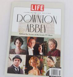 Life Magazine Downton Abbey Commemorative Edition Behind The Scenes Book EUC