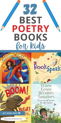 Poetry Books For Kids, Best Poetry Books, Best Children Books, Writing Lesson Plans, Writing Lessons, Sensory Images, Poetry Activities, Poetry Lessons, Book Of Poems