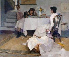 Frank Bramley - Domino (1886)