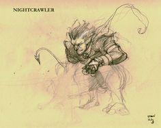 old works - NightCrawler by ~dtran on deviantART