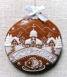 Today we are looking at Moravian and Bohemian gingerbread designs from the Czech Republic. Back home, gingerbread is eaten year round and beautifully decorated cookies are given on all occasions. Ginger Cookies, Iced Cookies, Cute Cookies, Holiday Cookies, Cupcake Cookies, Almond Cookies, Chocolate Cookies, Christmas Goodies, Christmas Treats
