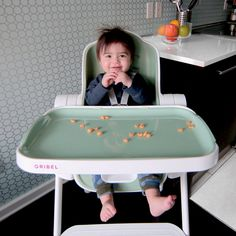 Delicious meal times on Oribel Cocoon high chair