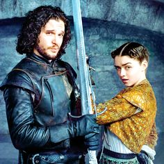 Jon and Arya