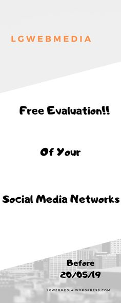 Get a free evaluation ofyour Social Media Network before the # Marketing Articles, Social Media Marketing, Best Proposals, Social Media Influencer, Target Audience, Startups, Free Books, Finding Yourself, Branding