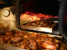 Savor.ly | Cordero al horno de leña (Leg of Lamb in Wood Oven)