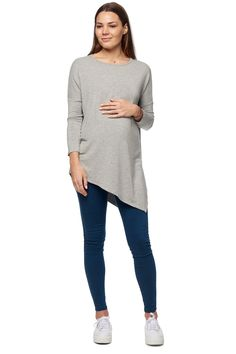 Grey Maternity Top / Every Chance Top – BAE The Label International