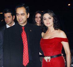 Preity Zinta and Deepanker Zinta