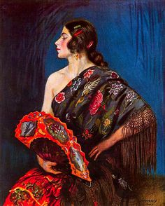 George Owen Wynne Apperley (1884-1960). La maja