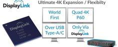 Conectar 4 monitores 4K por USB será posible gracias a DisplayLink -  Si eres de los que ha estado siguiendo la Computex puede que ya te suene la noticia pero aun así algunos hemos tenido que recapitular sobre todo lo presentado para poder ver las que han pasado algo más desapercibidas como esta. DisplayLinkte permitirá conectar 4 monitores con resolución 4K por usb. Si bien no todo []  La entrada Conectar 4 monitores 4K por USB será posible gracias a DisplayLink aparece primero en…