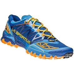 6db77b85dce La Sportiva Bushido Trail Running Shoes SS17 105 Blue    See this great  product.