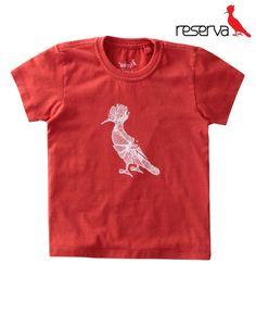 Camiseta Mini Pica Pau Vidro Tamanho: 2 até 8 anos