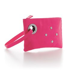 Mogo Purses! In pink and silver.