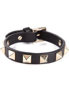 VALENTINO GARAVANI Rockstud bracelet on Vein - getvein.com
