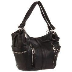 #B. Makowsky Alice Shoulder Bag #Women Handbags