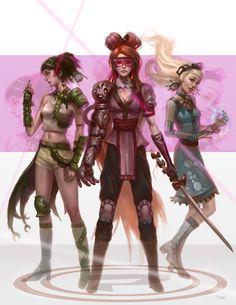 Powerpuff girls -- badass version? lol