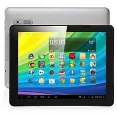 JXD S908 Quad Core A31 Android 4.1 Tablet PC 9.7 Inch Retina Screen 2G Ram 4K Video HDMI Silver