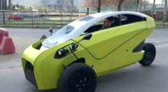 Soki - Chile's first electric vehicle amazes passersby - Daily Record