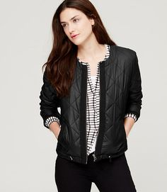 Image of Quilted Puffer Jacket