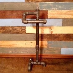Industrial Toilet Paper Holder Free-Standing by TheCleverRaven