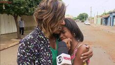 Gloria Maria se emociona com pequena repórter que bombou na web