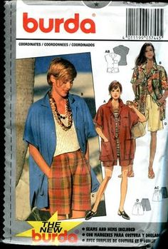 Pages and Print offers many Burda Style patterns