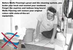 #Grout and Tile Cleaning