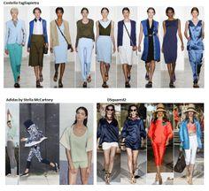 My favourite styles of Spring Summer 2014 COLLECTION apparel, shoes and make up by Costello Tagliapietra, Adidas by Stella McCartney, DSquared2 ------- i miei preferiti della COLLEZIONE moda Primavera Estate 2014 abbigliamento scarpe accessori e trucco