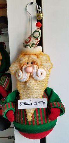 Santa Reno, Dollar Stores, Santa, Christmas Ornaments, Holiday Decor, Diy, Home Decor, Christmas Decor, Fabric Dolls