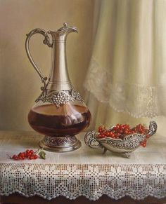 Still Life Oil Paintings By Maria Ilieva