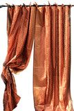 Copper Sari Curtain-KELA