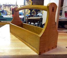 Antique Primitive Farrier S Wooden Tool Box Tote