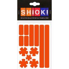 #shiok! #becomevisible! #retro-reflective #cycling #outdoor #sticker #bike I 9.95 EUR (incl. VAT) Cycling, Bike, Stickers, Retro, Outdoor, Bicycle, Outdoors, Biking, Bicycling