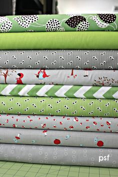 Crazy pickles and smoke custom Fat Quarter bundle, from #Poppyseed Fabrics