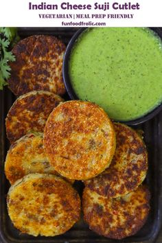 Cheese Rava Cutlet is a delicious vegetarian snack made with suji, cheese, and milk. Find how to make perfect sooji cutlets in a few simple steps. Healthy Indian Snacks, Vegetarian Snacks, Indian Food Recipes, Indian Vegetarian Recipes, Tea Time Snacks, Appetizer Recipes, Snack Recipes, Cooking Recipes, Chaat Recipe