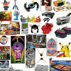 80s & 90s toys and games