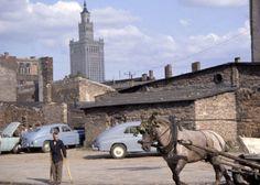Zdjęcie z 1963 r. Zaniedbany zachodni rejon Śródmieścia, zwany