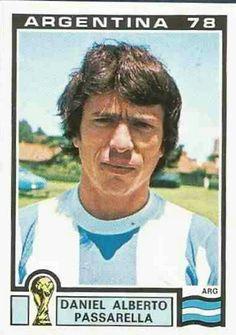 Daniel Passarella of Argentina. 1978 World Cup Finals card.