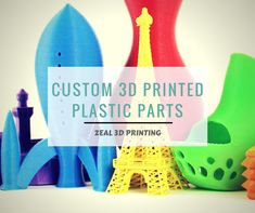 Browse Zeal 3D Printing Services for custom 3D printed plastic parts such as plastic clips, custom letters, and functional & replacement parts. https://bit.ly/2tQuoTd #3Dprinting #3Dprintingservices #Melbourne