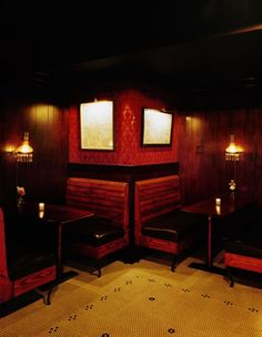 The Varnish Bar in Downtown Los Angeles, featuring classic cocktails.