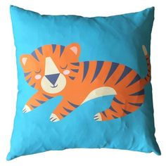 Shop today for Decorative Fun Animal Cushion - Tiger by weeabootique !