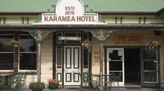 Historic Karamea Hotel, Karamea, West Coast. Photo by DavidWallPhoto.com