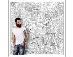 Wall Art code: FU 026 Hand made Digital Artwork Method of imprinting: Digital printing Designer - Digital artist / Costas Gontas
