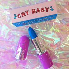 Lime Crime Cry Baby limited edition lipstick Mais