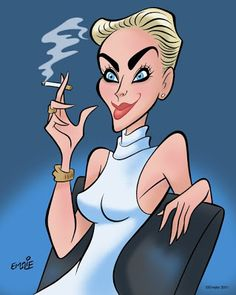 Sharon Stone  FOLLOW THIS BOARD FOR GREAT CARICATURES OR ANY OF OUR OTHER CARICATURE BOARDS. WE HAVE A FEW SEPERATED BY THINGS LIKE ACTORS, MUSICIANS, POLITICS. SPORTS AND MORE...CHECK 'EM OUT!! Anthony Contorno Sr