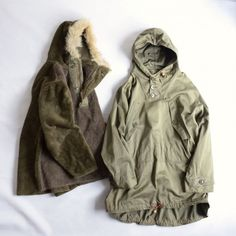 """40's U.S. ARMY """"M-43 Field Parka""""、ライナー""""M-43 Field Pile Liner Parka"""